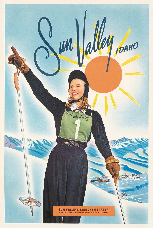 191. Sun Valley / Gretchen Fraser. 1949.