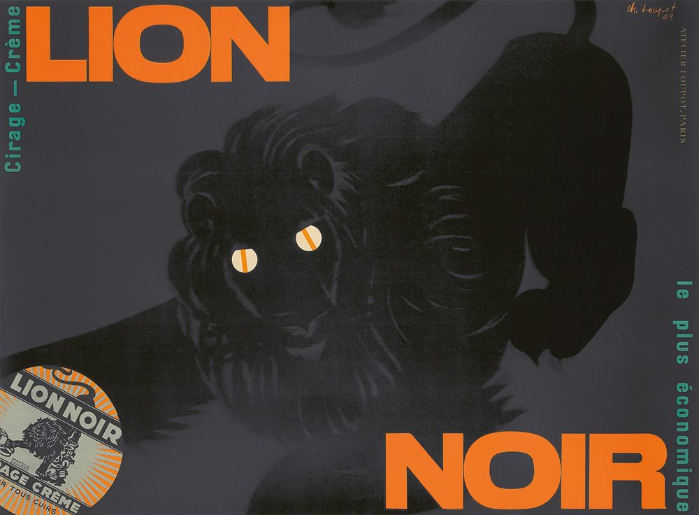 367. Lion Noir. 1949.