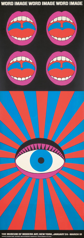 492. Word & Image/Museum of Modern Art. 1968.