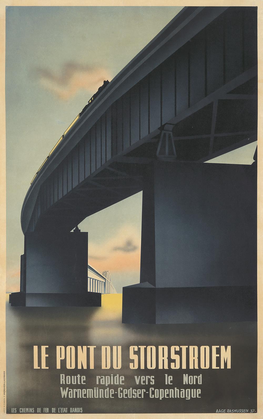 432. Le Pont du Storstroem. 1937.