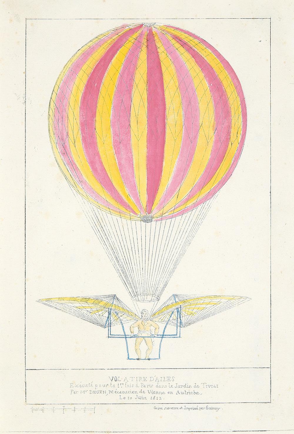 55. Vol-a-Tire d'Ailes. 1812.