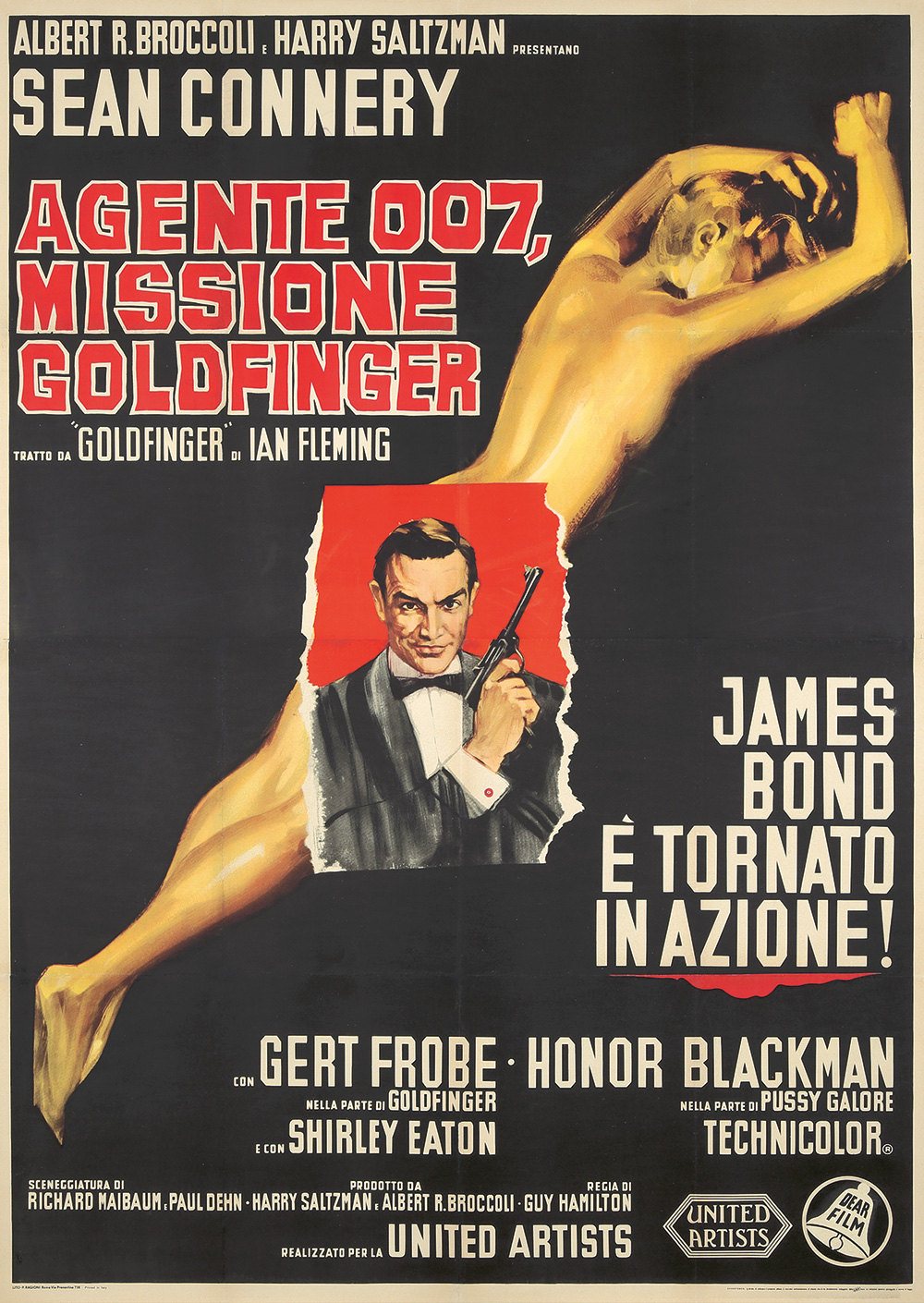149. James Bond / Missione Goldfinger. ca. 1964.