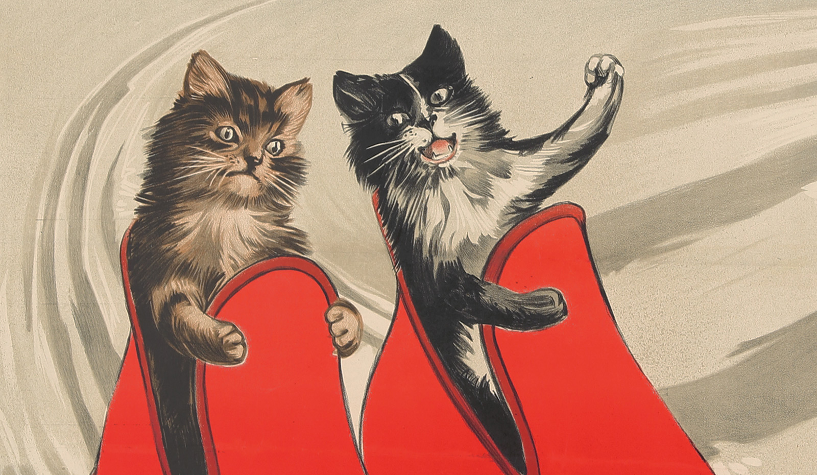The Adventures Of Dack And Jack, Two Curious Poster Cats