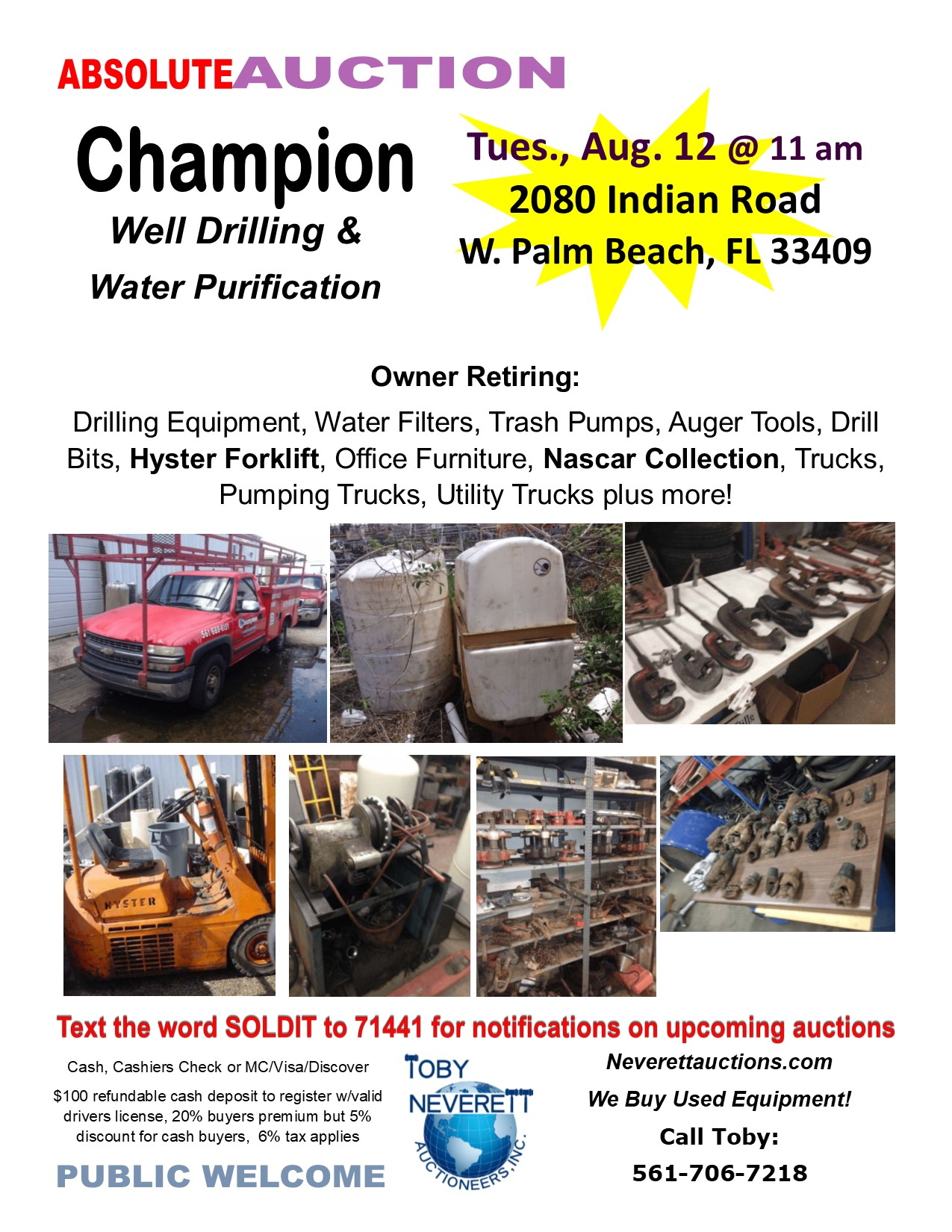 Flyer For Champion