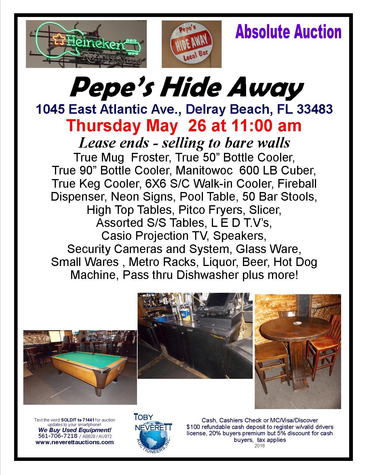 Flyer May 26 PEPE