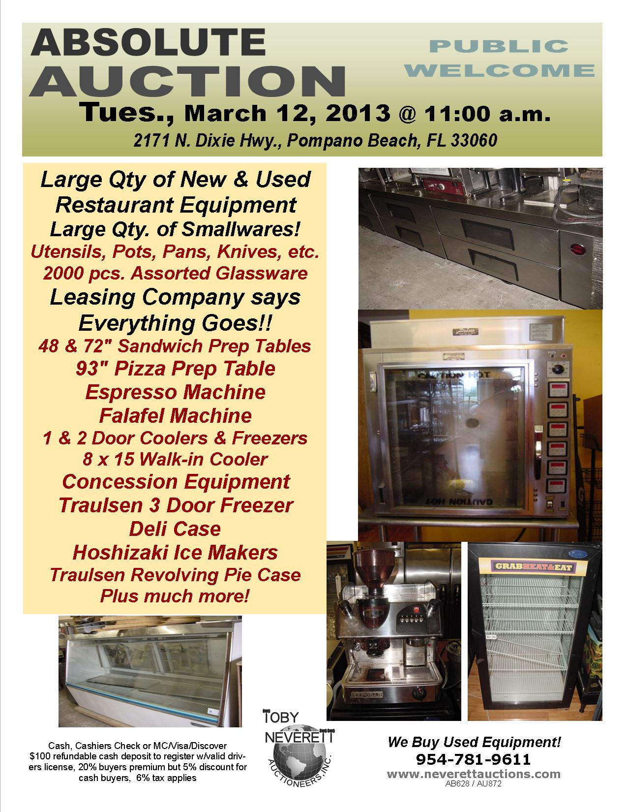 March 12 2013 Flyer