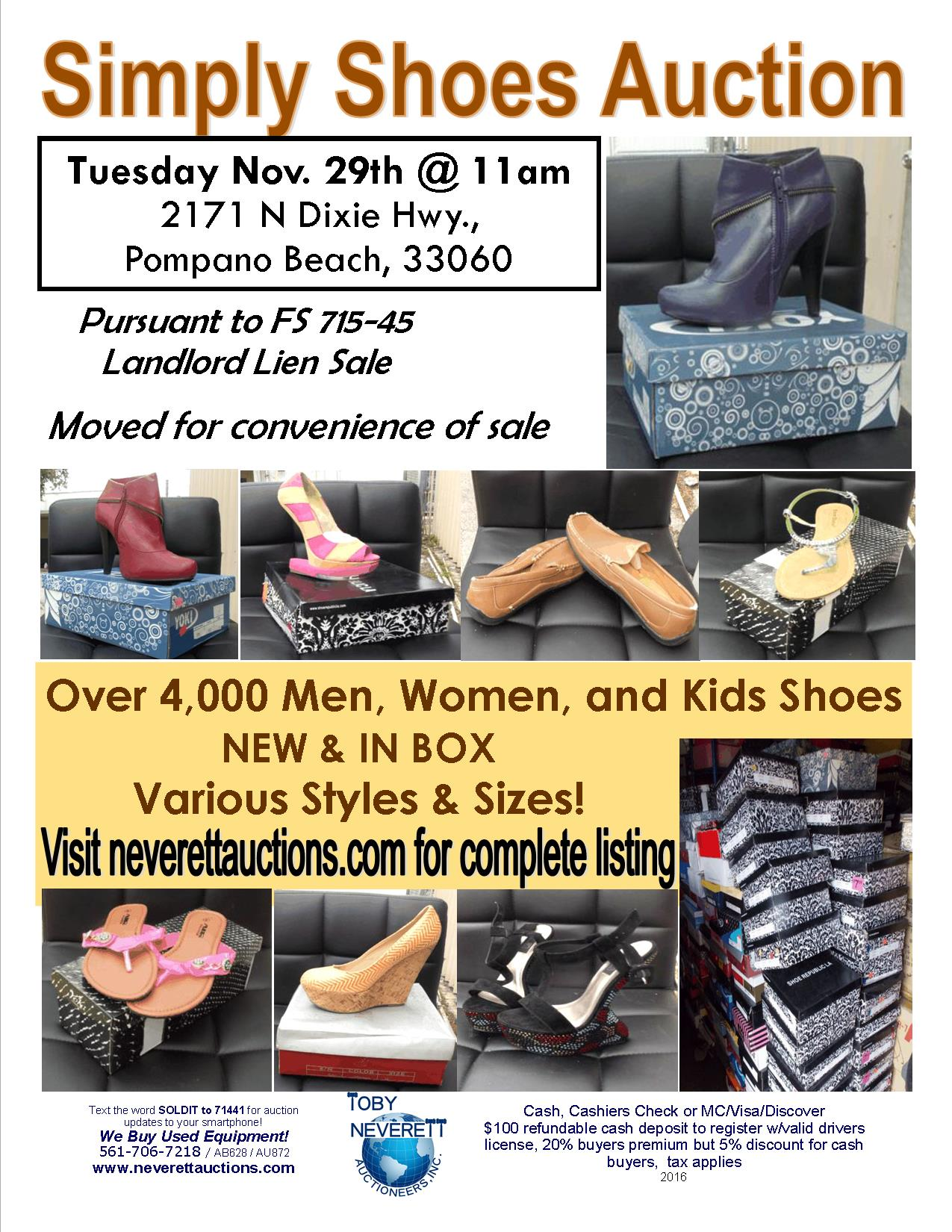 Simply Shoes Flyer