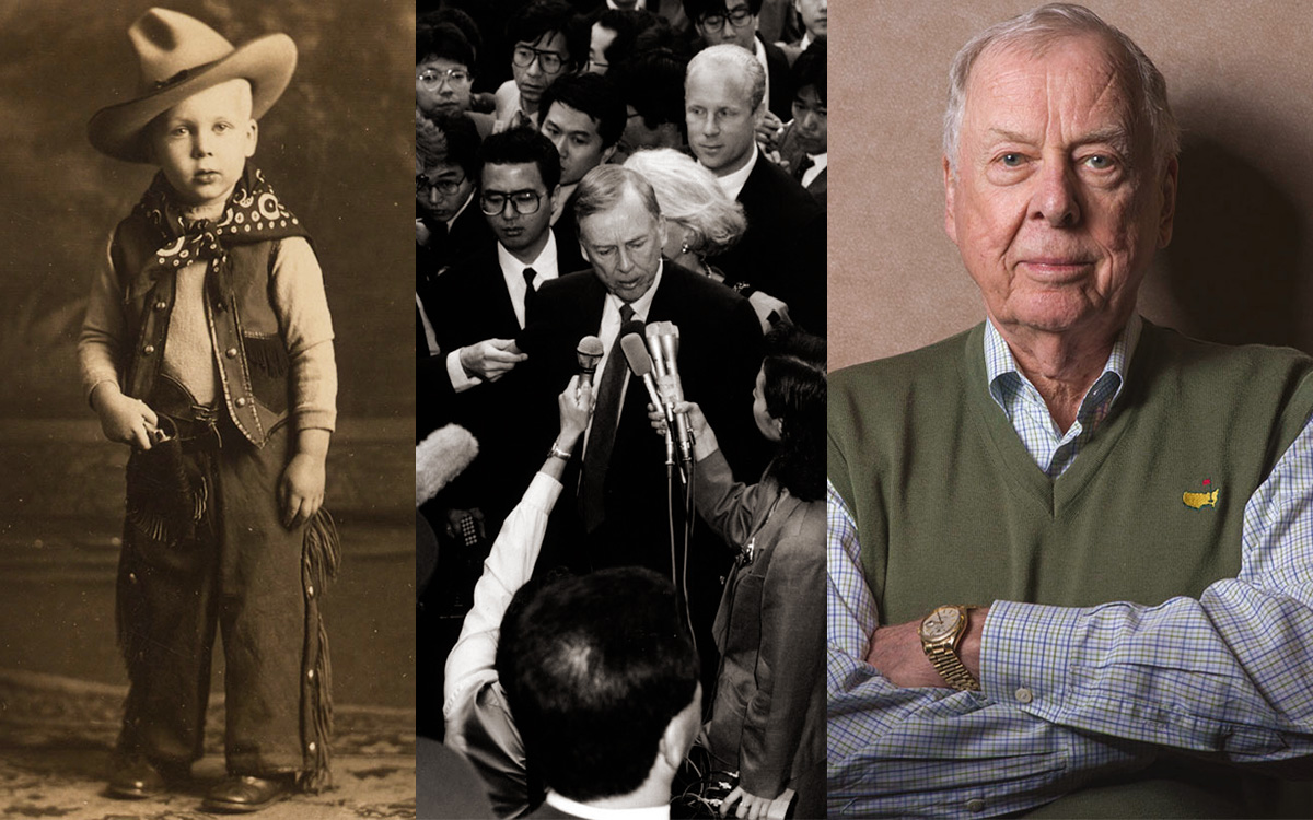 Sept. 2020 Auction News! T.Boone Pickens