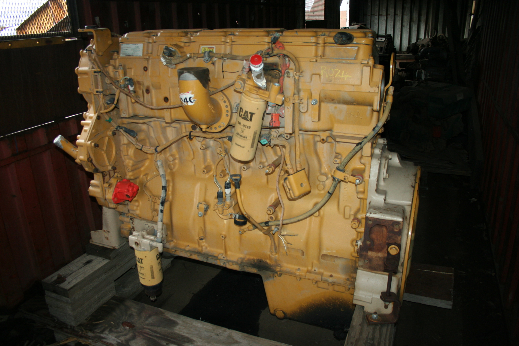 CAT C15 Acert Engine (Stripping For Spares)