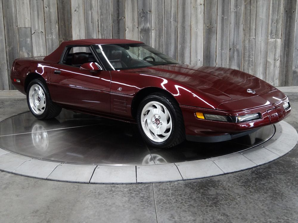 933 Mile 1993 Corvette 40th Anniversary