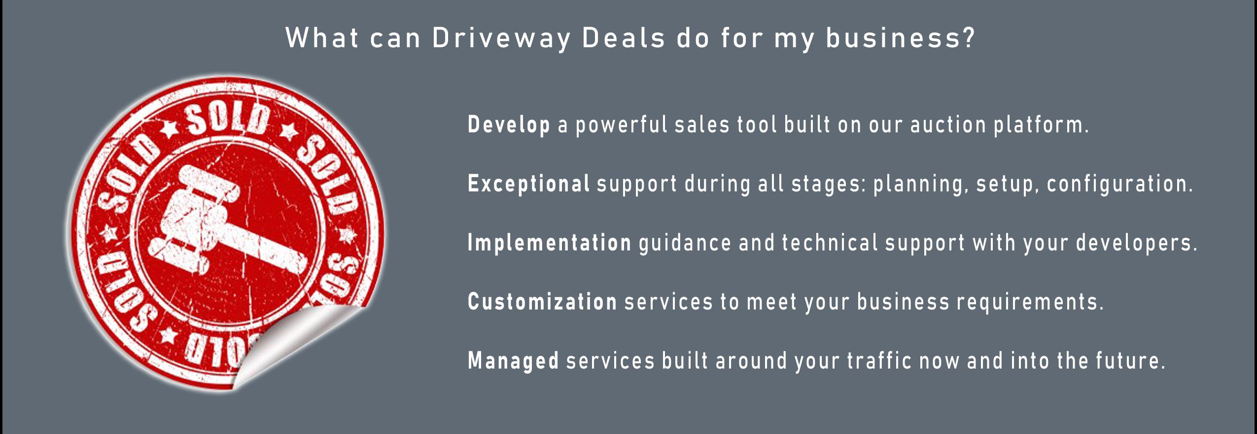 Driveway Deals Business