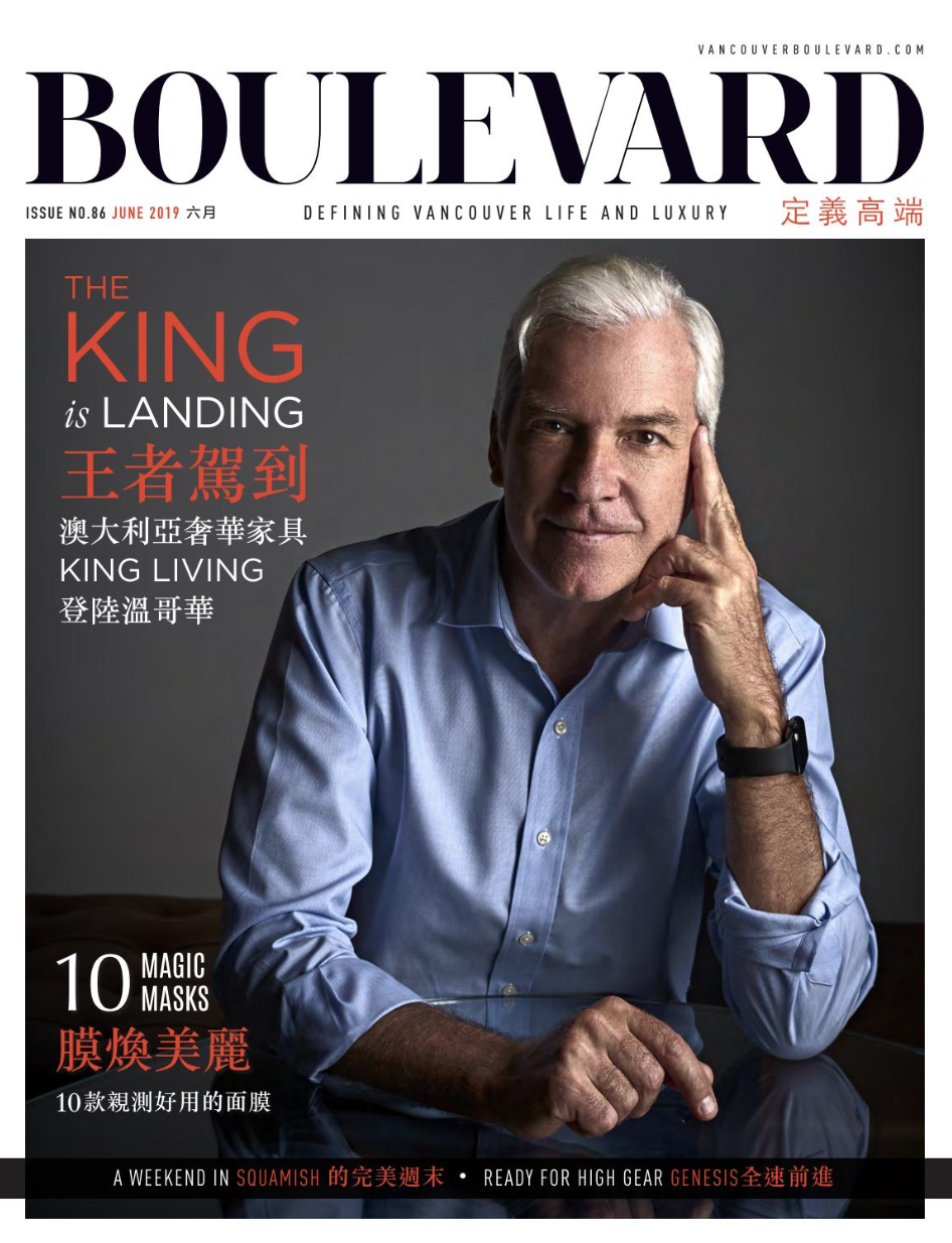 BOULEVARD MAGAZINE CHINESE JUNE 2019