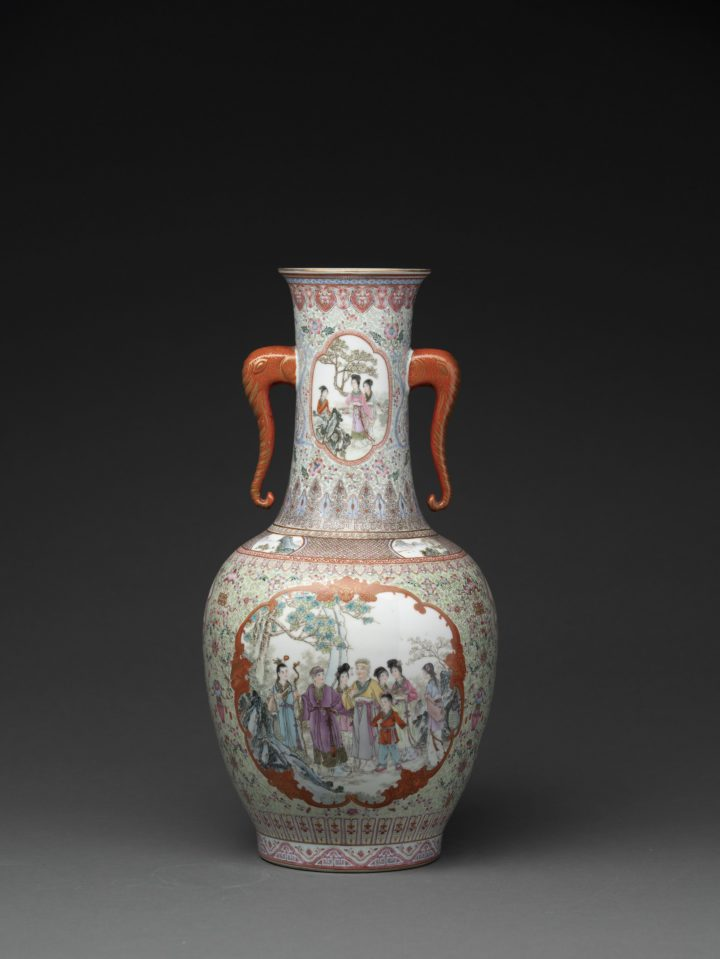 ROMANCE WITH A REPUBLICAN PERIOD VASE