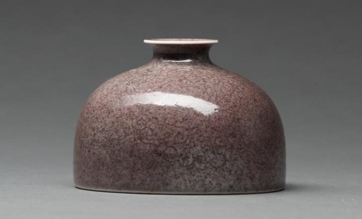 A Peachbloom Glazed Waterpot