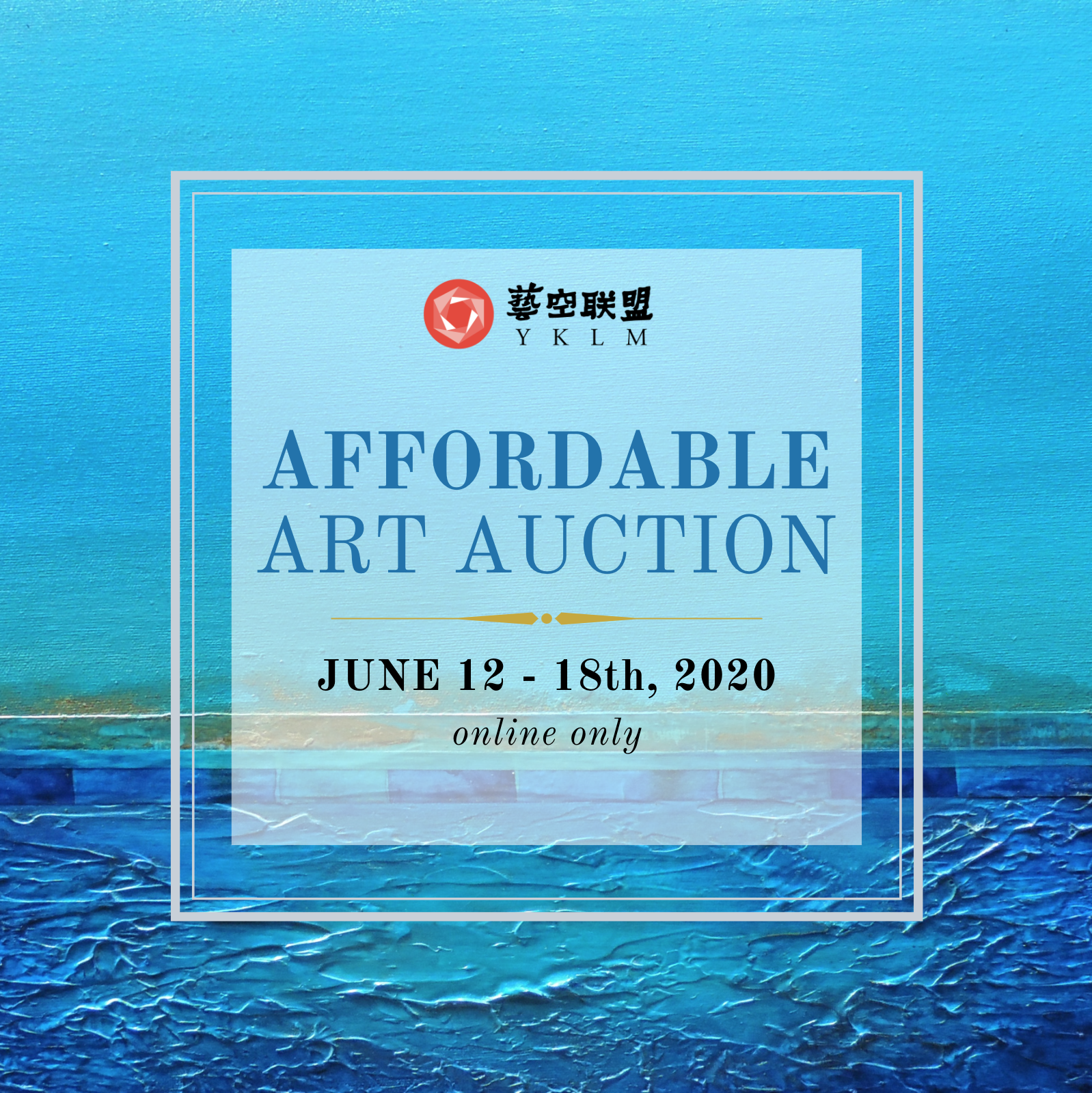 YKLM Affordable Art Auction
