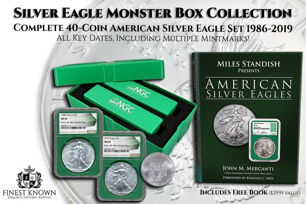 American Silver Eagle Coin.
