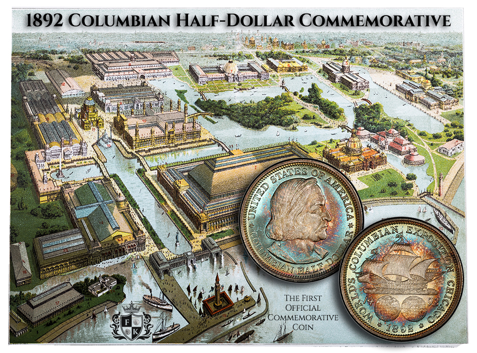 Illustration of the World's Columbian Exposition , World's Fair: Columbian Exposition, also known as the Chicago World's Fair and Chicago Columbian Exposition