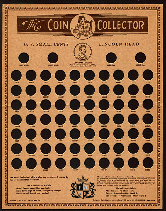 Finest-Known_1b-Coin-Collecting,-Coin-Board