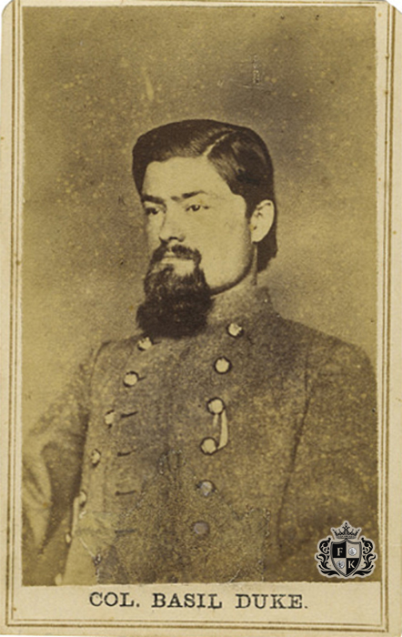 Finest-Known_10b-Confederate-General-Basil-Duke