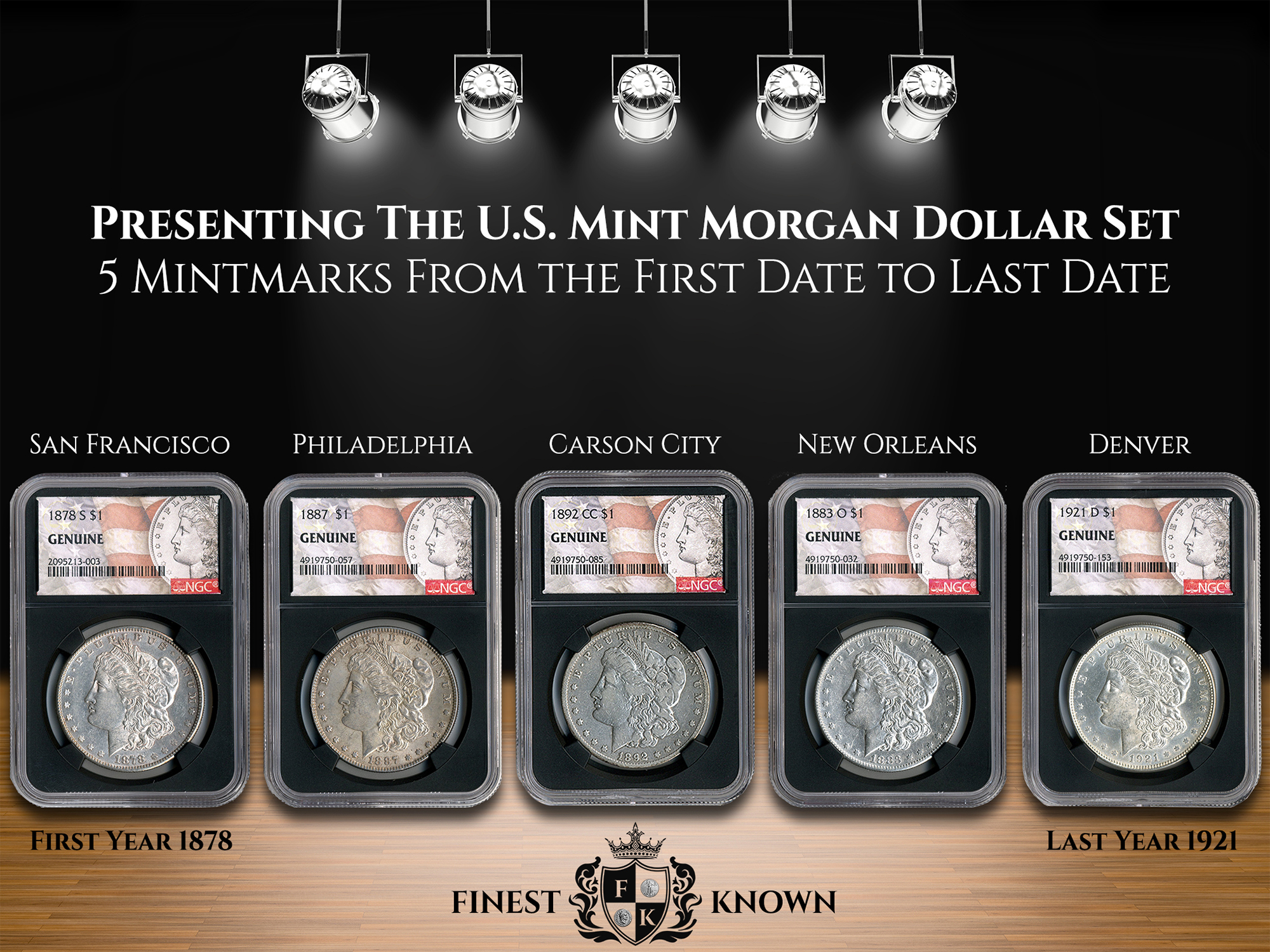 Finest-Known_Morgan-Collection_5-Coin-Mint-Set