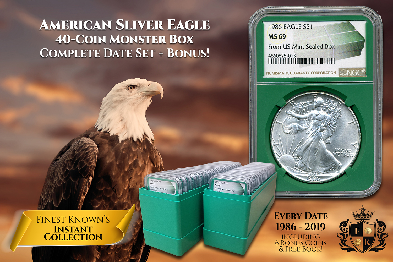 Finest-Known_American-Silver-Eagle_Monster-Box-Collection