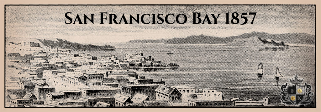 Illustration of the Bay of San Francisco