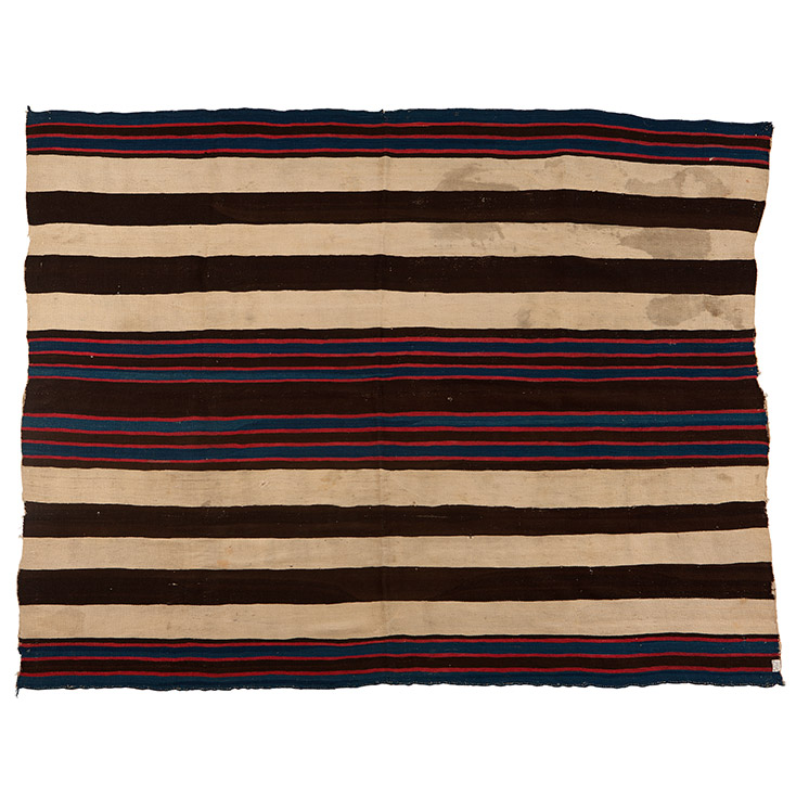 A Navajo Ute Style Chief's Blanket, First Phase