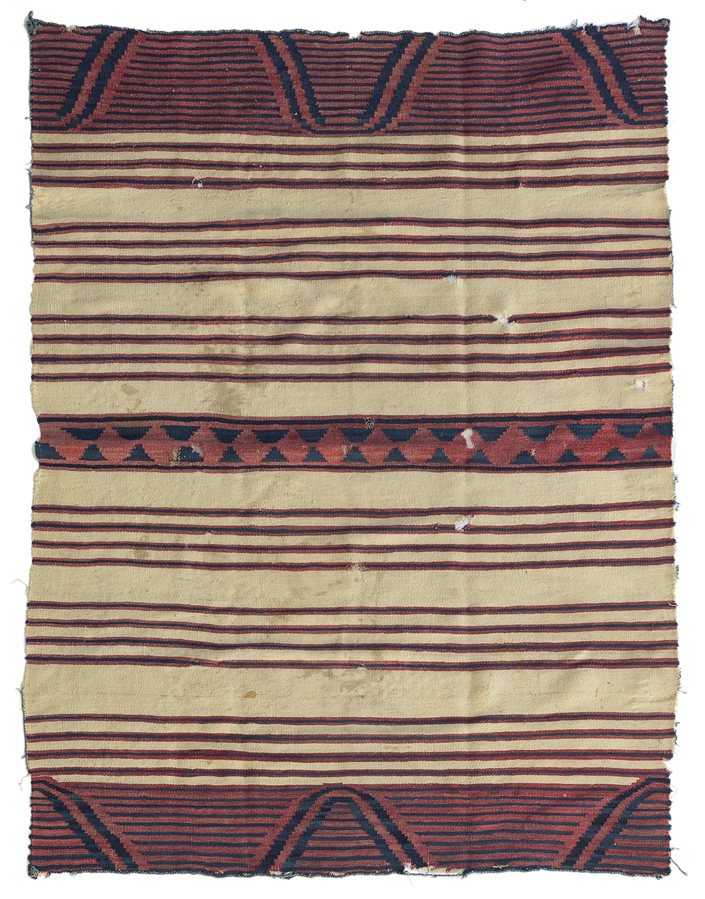 Navajo Classic Period Child's Wearing Blanket Which Earned $93,750