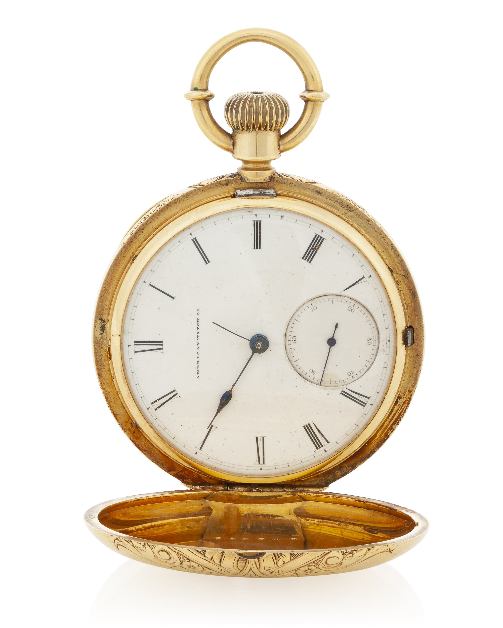 An American Watch Co. hunter's case pocket watch