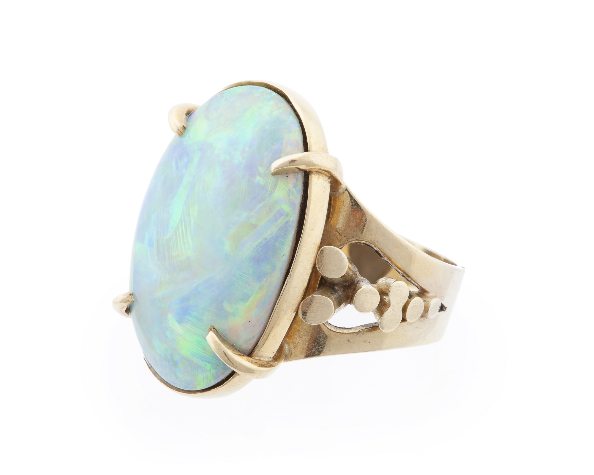 An opal ring, George Brooks