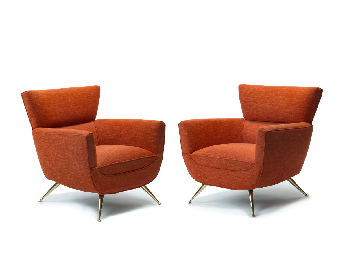 A pair of armchairs, Tommi Parzinger