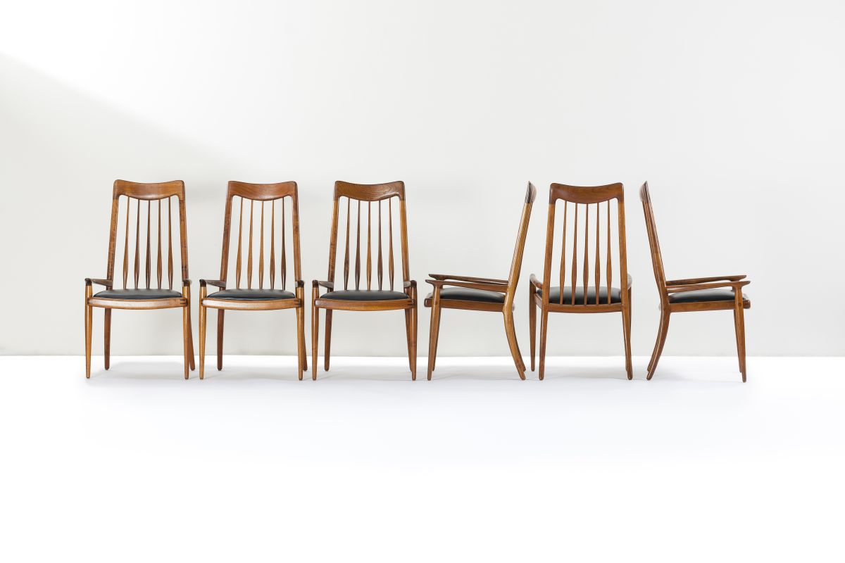 Sam Maloof chairs