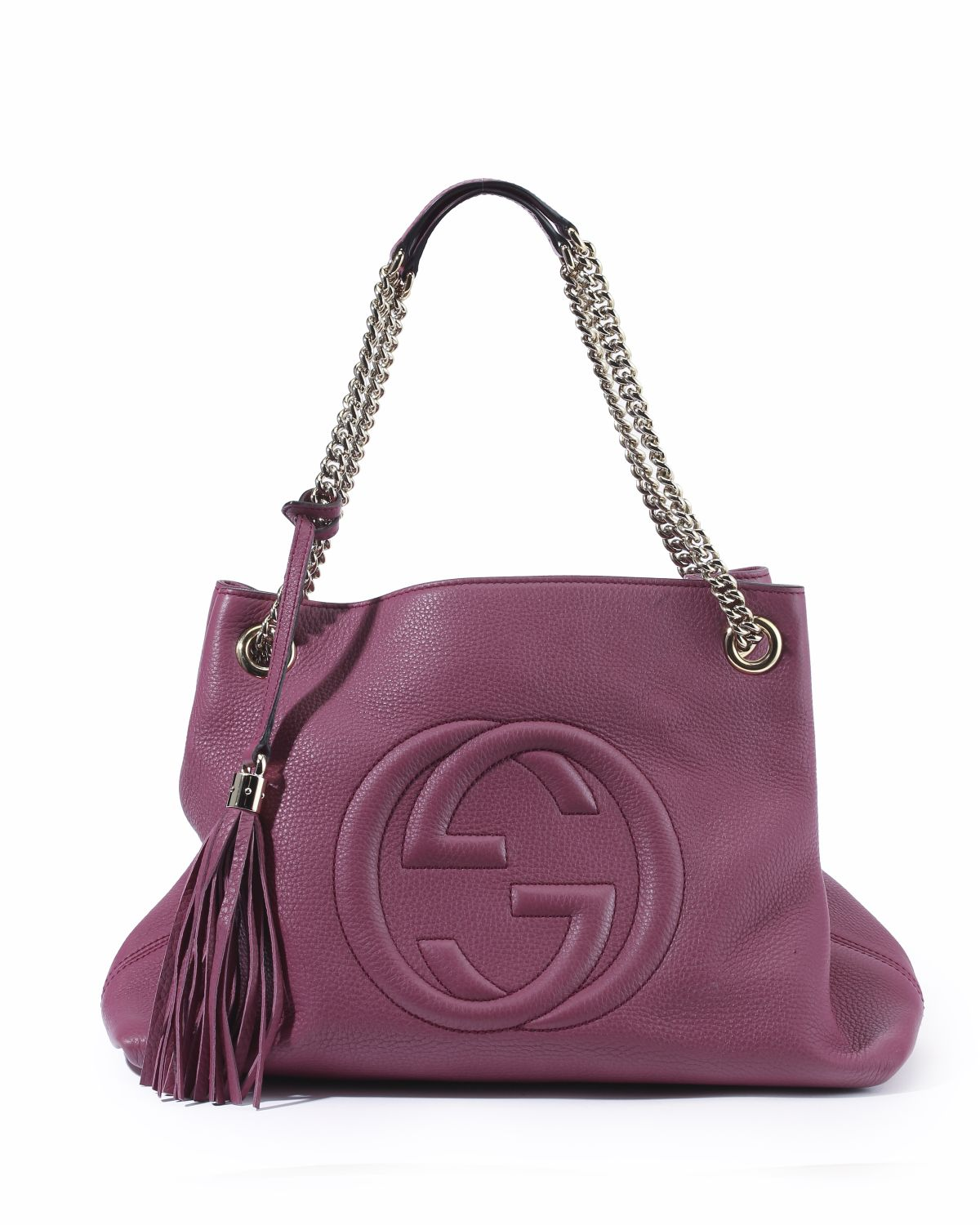A Gucci Soho chain shoulder bag