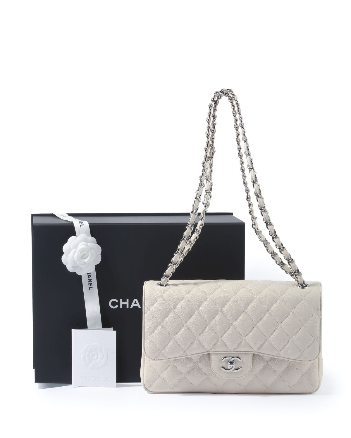 A Chanel Jumbo Classic Flap shoulder bag