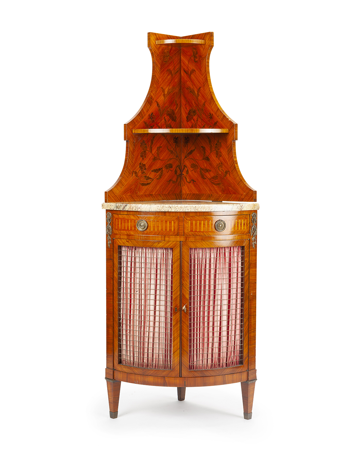 A French corner cabinet by Haentges Fres