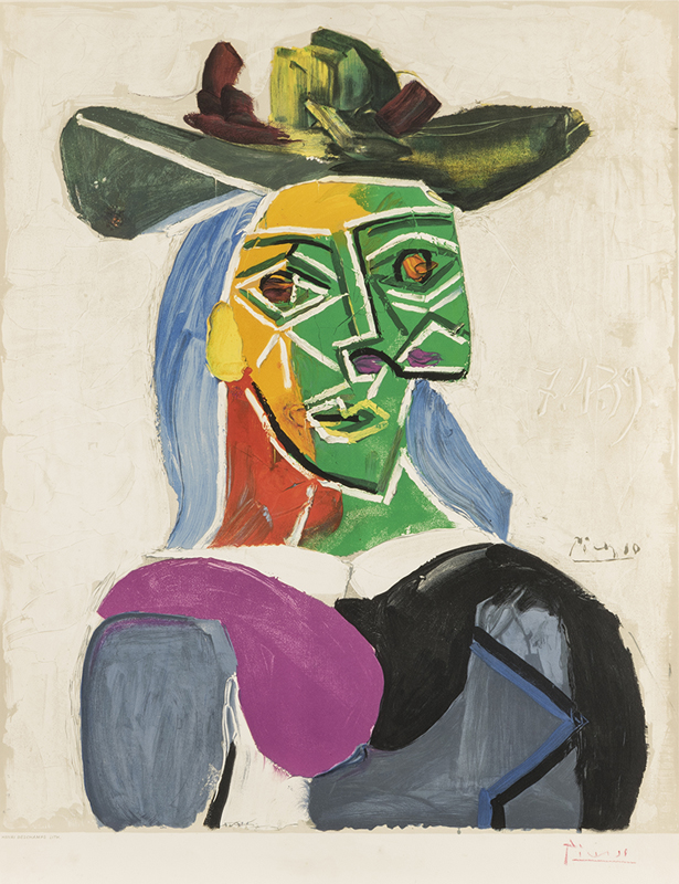 After Pablo Picasso (1881-1973 Spanish)