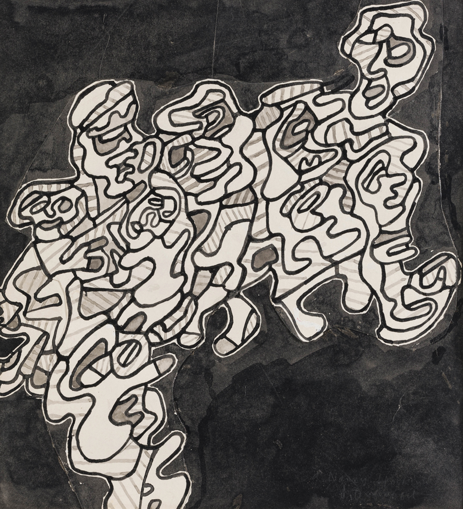 Jean Dubuffet, (1901 – 1985 French)