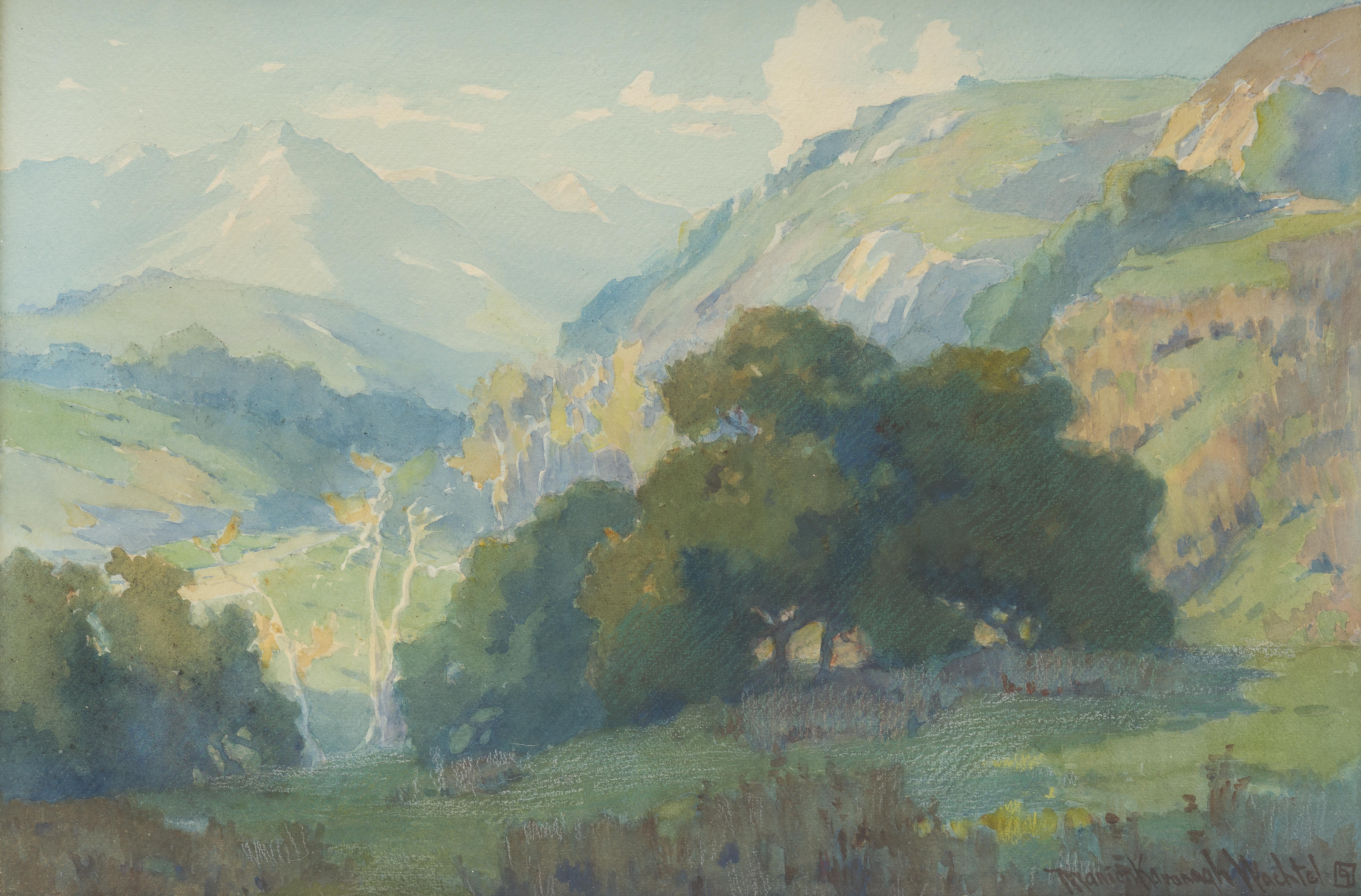 Marion Kavanagh Wachtel, (1870 – 1954 Pasadena, CA)