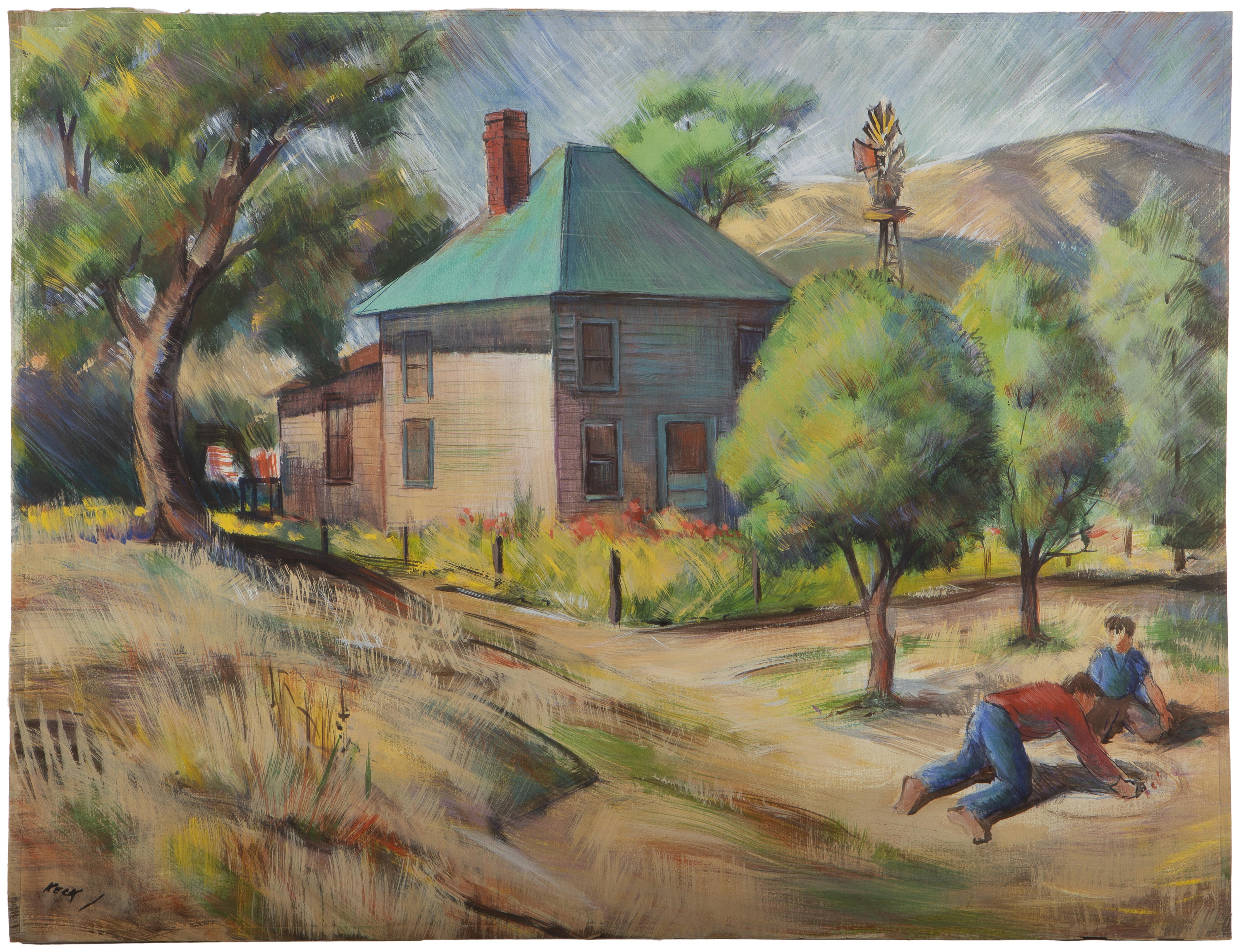 Charles Keck, (1913-2003 Los Angeles, CA)