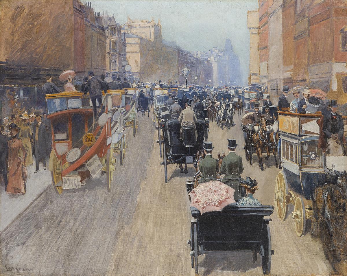 Fernand Lungren, (1857-1932 Santa Barbara, CA)
