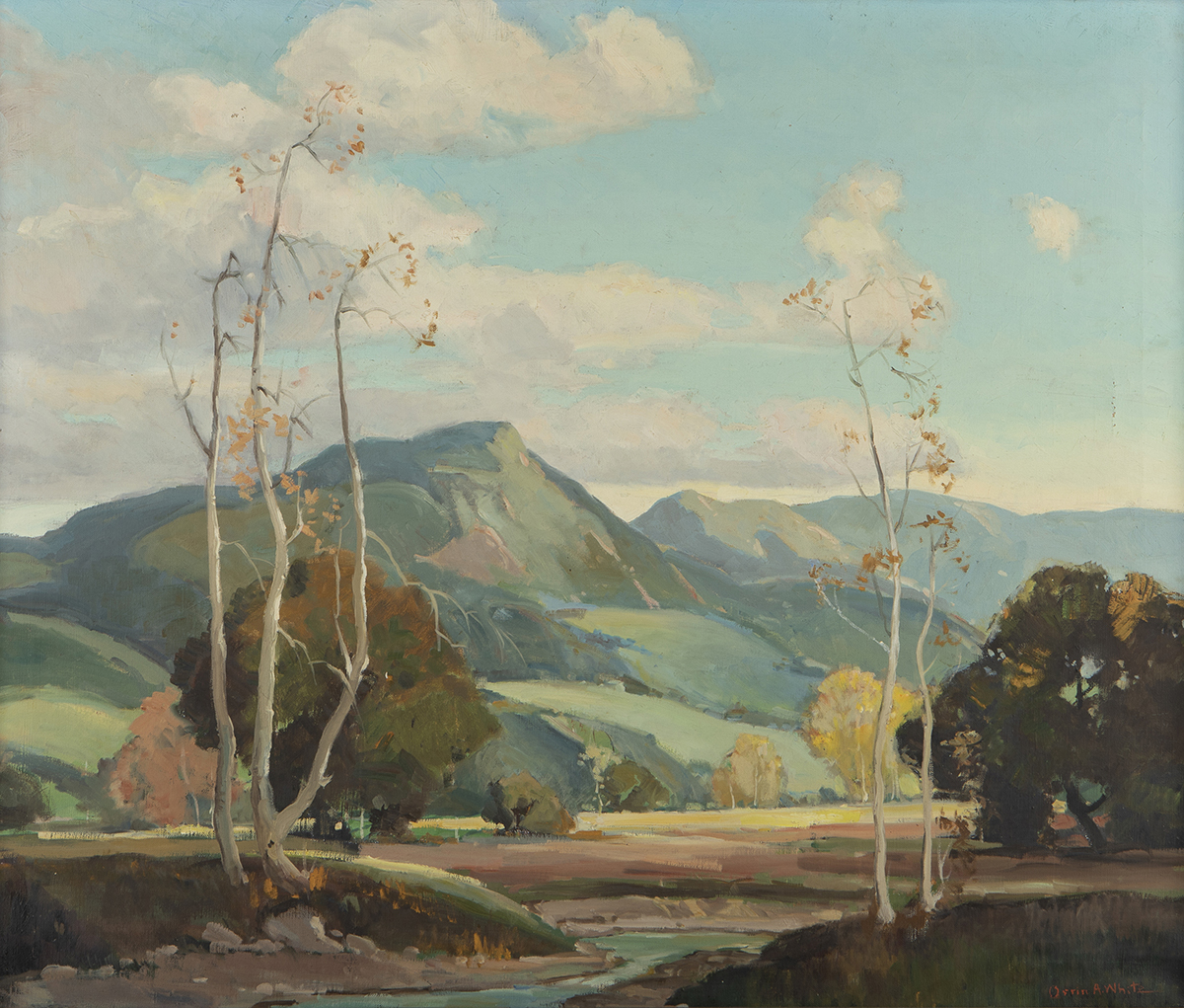 Orrin A. White, (1883-1969 Pasadena, CA)