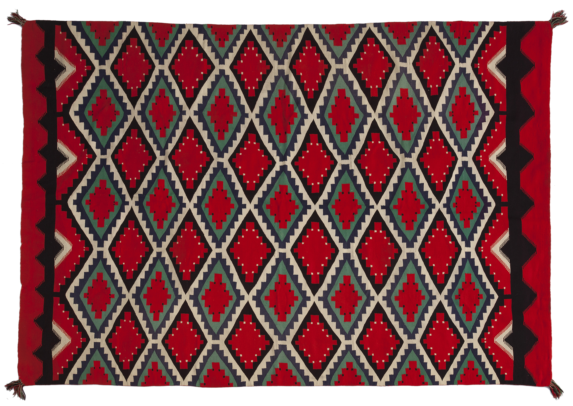 A large Germantown Navajo Rug