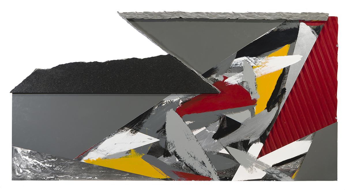 Laddie John Dill, (1943-* Long Beach, CA), Triangular