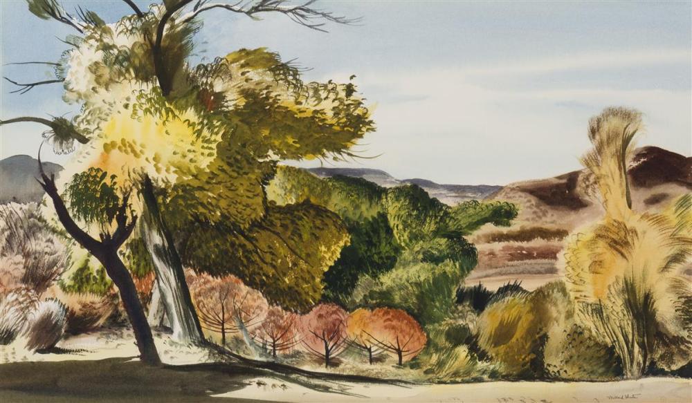 Millard Owen Sheets NA, (1907-1989 Gualala, CA)