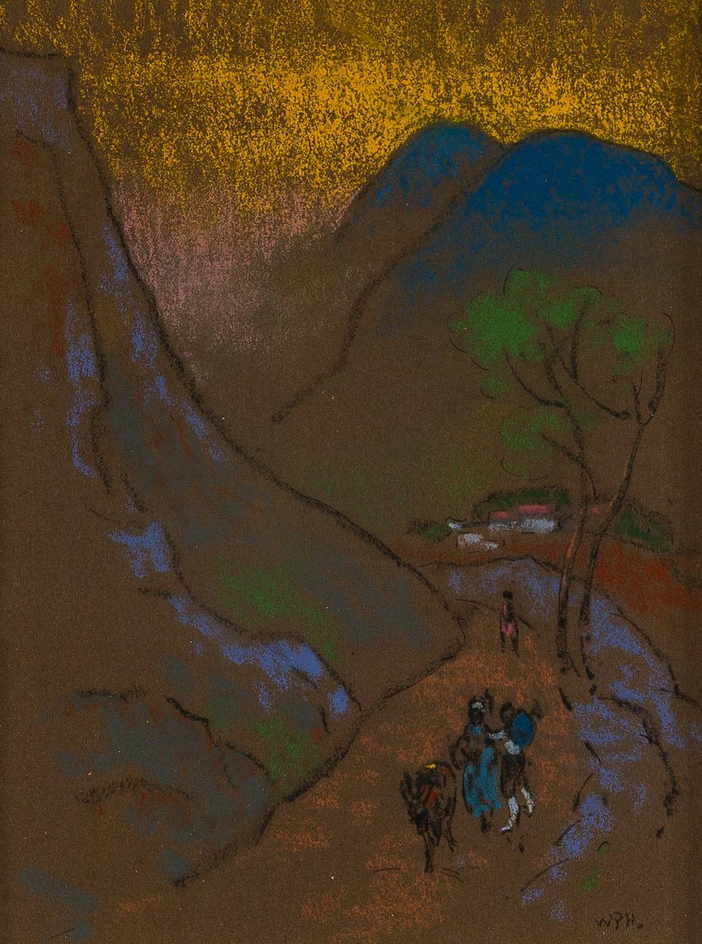 William Penhallow Henderson (1877-1943 Tesuque, NM)