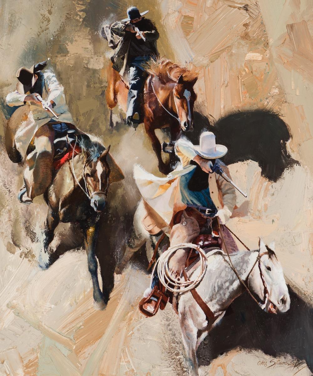 Oleg Stravrowski (1927-* Austin, TX)