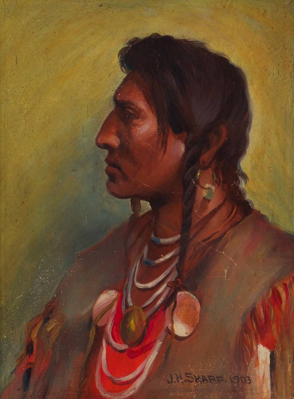 Joseph Henry Sharp (1859-1953 Pasadena, CA)