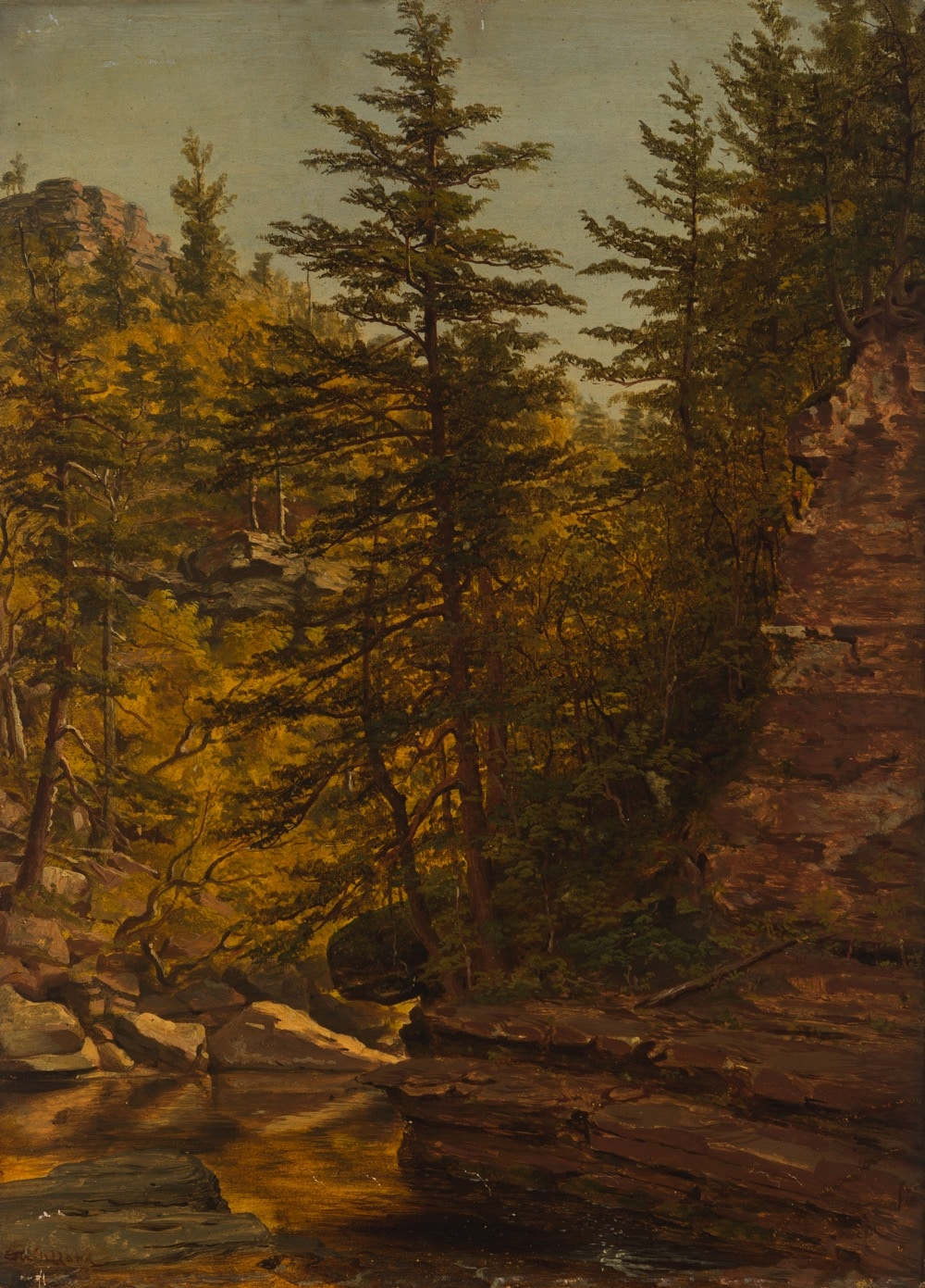 Sanford Robinson Gifford (1823-1880 Massachusetts/New York)