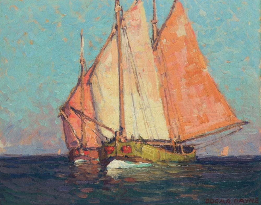 Edgar A. Payne (1883-1947 Los Angeles, CA)