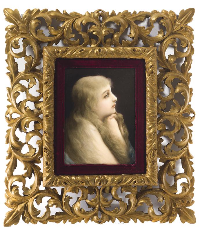 """A KMP """"Gebet"""" portrait plaque"""